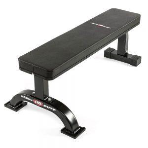 Heavy duty flat bench